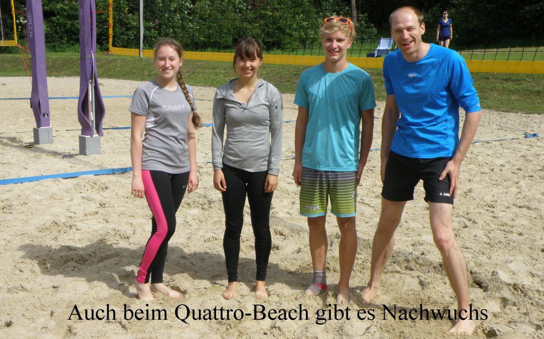 Auch beim Quattro-Beach gibt es Nachwuchs